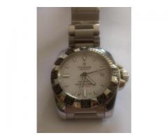 Relógio marca Tudor todo em aço hydronaut 11