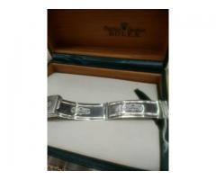 Relógio marca Rolex modelo osyter Júnior aço ouro