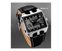 Relógio de Luxo AD0930 Exclusivo Frete Grátis